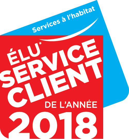 Pictogramme &quotElu Service Client 2018""